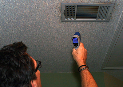 Heater AC temp reader